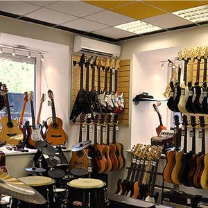 Музыкальные магазины Крымска